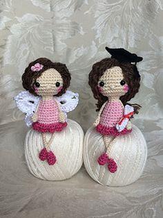 Free pattern - doll Cute Amanda - the Little Dolly variation by Uljana Semikrasa on Ravelry