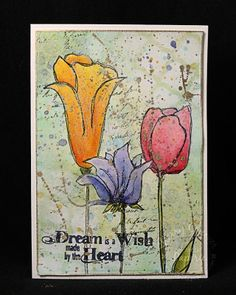 Sherry Cheever Unity Mixed Media Card    Absolutely Beautiful ! :)