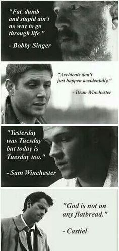 Funny supernatural quotes