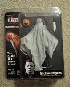 Neca1 Michael Myers Ghost Action Figure