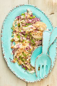 Recipe: Cold Sesame Chicken and Noodle Salad — Quick and Easy Weeknight Dinners