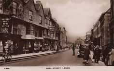 Sussex, Lewes High Street