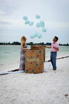 Gender Reveal Photo Session Captured by Colson