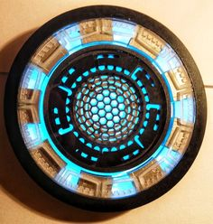 Picture of Iron Man 3 Arc Reactor.