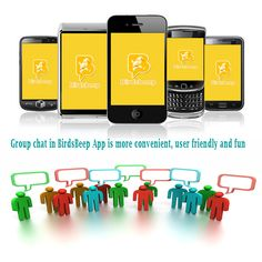 #Group #Chat In #BirdsBeep #App Is More Convenient, User Friendly And Fun