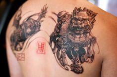 Tattoo Temple - Wang