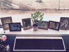 window displays with frames