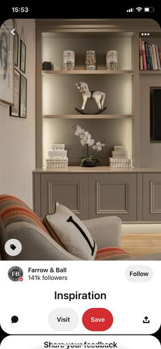 Built In Wall Units, Bookcase, Shelves, Building, Wall Ideas, Tv, Home Decor, Shelving, Decoration Home