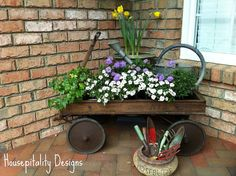 plant porch decor