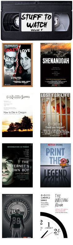 Stuff to Watch: 5 documentaries to watch on Netfllix  if you're a fan of the Serial podcast + 3 more.