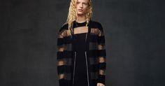 mcq alexander mcqueen pre-fall 2016 Mcq Alexander Mcqueen, Fall 2016, Fur Coat, Chic, Stylish, Optimism, Jackets, Black, Dresses
