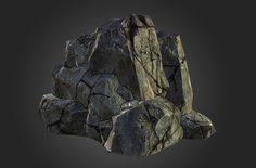 What Are You Working On? 2014 Edition - Page 13 - Polycount Forum Zbrush Environment, Environment Design, Isometric Map, Dragon Garden, Landscape Elements, Landscaping With Rocks, Rock Formations, Texture Painting, Painting Tips