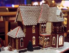 We need to make these houses out of something other than gingerbread--maybe chocolate dough???