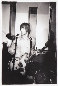 Paul Weller at 100 Club (Photo by Darren Russell)