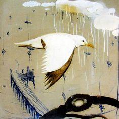 Paintings - Brett Whiteley - Page 2 - Australian Art Auction Records Australian Painting, Australian Artists, Australian Birds, Anime Comics, Bird Artwork, Insect Art, Art For Art Sake, Aboriginal Art, Art Auction