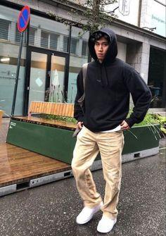 ✰ pinterest: livvwoodz ✰ Stylish Mens Outfits, Casual Outfits, Men Casual, Winter Outfits Men, Retro Outfits, Mode Masculine, Hommes Grunge, Vetement Fashion, Herren Outfit