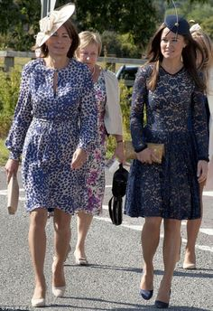 Pippa Middleton in Freya dress from Project D London AW11 collection