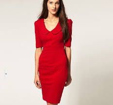 Resultado de imagen para red dress for women