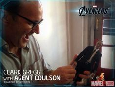 Clark Gregg with Agent Coulson Twitter / whedonesque: .