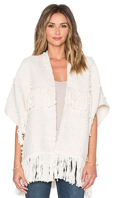 Shop for Ulla Johnson Fringe Cusco Wrap in Cream at REVOLVE. Free 2-3 day shipping and returns, 30 day price match guarantee.