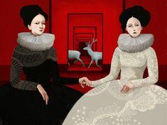Pinzellades al món: Les il·lustracions de Daria Petrilli: cavalcant entre somnis