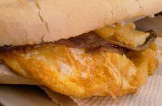 Tortilla de patata individual con anchoas caseras. La Pascuala #Valencia