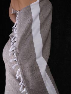 Bardzo miękki ręczniki Hamam EBRU, ręcznie tkane z czesanej bawełny!