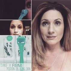 """Do you own one of these?!?!  If you're over 30, (like me I am 44) your answer should be """"yes!"""" ❤️Here's why:  At the age of 25, collagen production begins to decrease, which creates wrinkles, fine lines, sagging skin, dark circles, and turkey neck. """"So start today. We are all aging all the time, but what that looks like is up to you."""" ~Dr. Katie Rodan, Dr. Kathy Fields. Message me if you want more information on the Amp MD Roller System"""