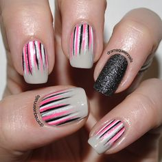 Drama Queen Nails: #31dc2013 - Day 12: Stripes
