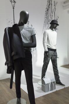 Showroom Esprit de Paris - 2016 - collection Male stylism by #SebastienBlondin #mannequins #RalphPucci #CofradMannequins