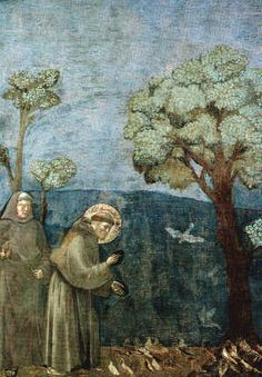 Giotto, St. Francis Preaching to the Birds, c. 1295-1300.