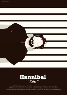 Hannibal (2013–2015) ~ Minimal TV Episode Poster by Risa Rodil #amusementphile