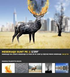 """""""Stone deer"""" by  Ovidiu Protopopescu. Meseriasii sunt pe 123RF!"""