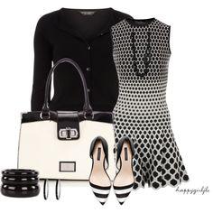 SPRING STYLE~Black & White by happygirljlc on Polyvore