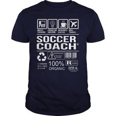 Awesome Shirt For Soccer Coach #hoodie kids #sweater diy. CHEAP PRICE:  => https://www.sunfrog.com/LifeStyle/Awesome-Shirt-For-Soccer-Coach-Navy-Blue-Guys.html?68278