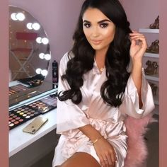 "The Little Lovebird on Instagram: ""See our Instastory today featuring our beautiful blush plain robe, branded with @pinkboutiqueuk logo, created for Pink Boutique models to…"""