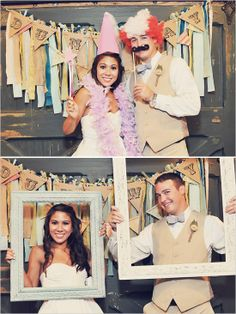 wedding photo booth - Click image to find more Weddings Pinterest pins