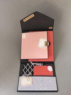 Valentinstag-Mini-Album Album In einem Box von CallMeCraftie