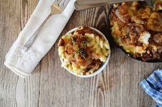 French Onion Soup Mac n' Cheese. The best of both worlds! Via @bakeaholicmama