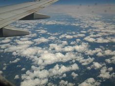 #Clouds from the #airplane