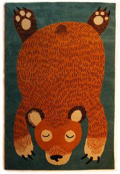 Node: Bear rug