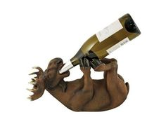 Mischievous Moose Love this as a wine bottle holder so funny