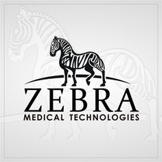 This is the Creative Hat Logo Design Concept for Zebra Medical