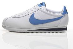 wholesale dealer 1e136 63fc7 Cortez Shoes, Nike Cortez, Vintage Sneakers, Blue Nike, Sneaker