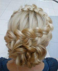 blond braids hairstyles