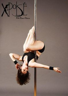 Love this pose..! Absolutely awesome looking. Pole move 'The Pea'
