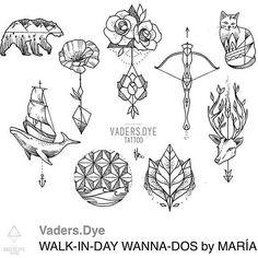 "930 Likes, 56 Comments - María Fernández (@mariafernandeztattoo) on Instagram: ""Es ist wieder so weit! Walk in day SAMSTAG 17 OKTOBER 💜 Come in and get inked @vadersdye !"""