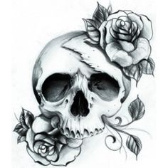 small skull and rose tattoos | Publié 12 décembre 2012 à 340 × 340 dans Contact