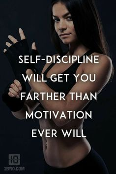 Time to become self disciplined again. I have let my bad habits go on far too long.