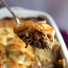 Cottage Pie Topped with Scalloped Potato Gratin - Erren's Kitchen